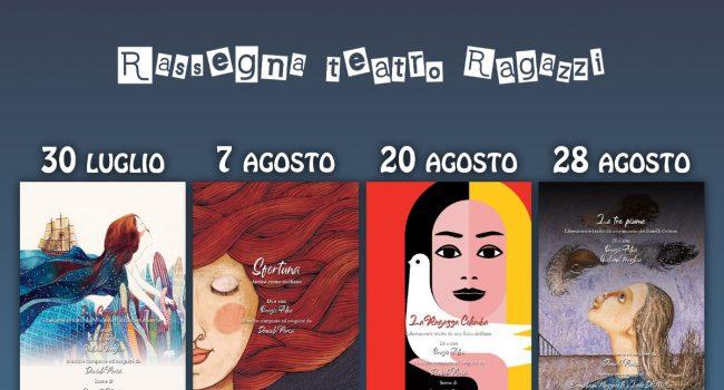 """– spettacoli –    Rassegna di teatro per ragazzi """"Bippi! Boppi! Bu!"""" sabato 28 agosto a Caltagirone"""