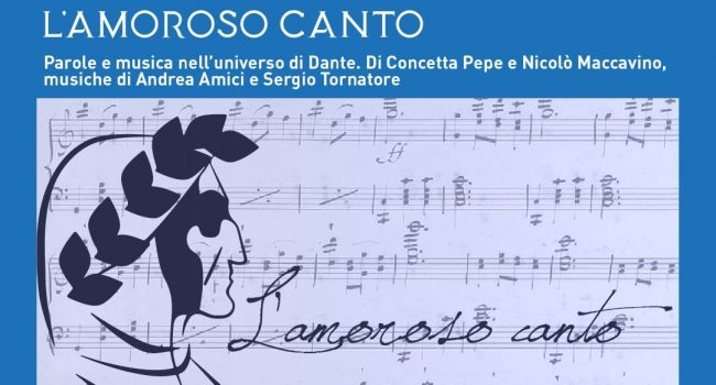 """Domenica 5 settembre, a Villa Patti, """"L'Amoroso Canto – Parole e musica nell'universo di Dante"""": un atto d'amore per la musica, ma anche per la città"""